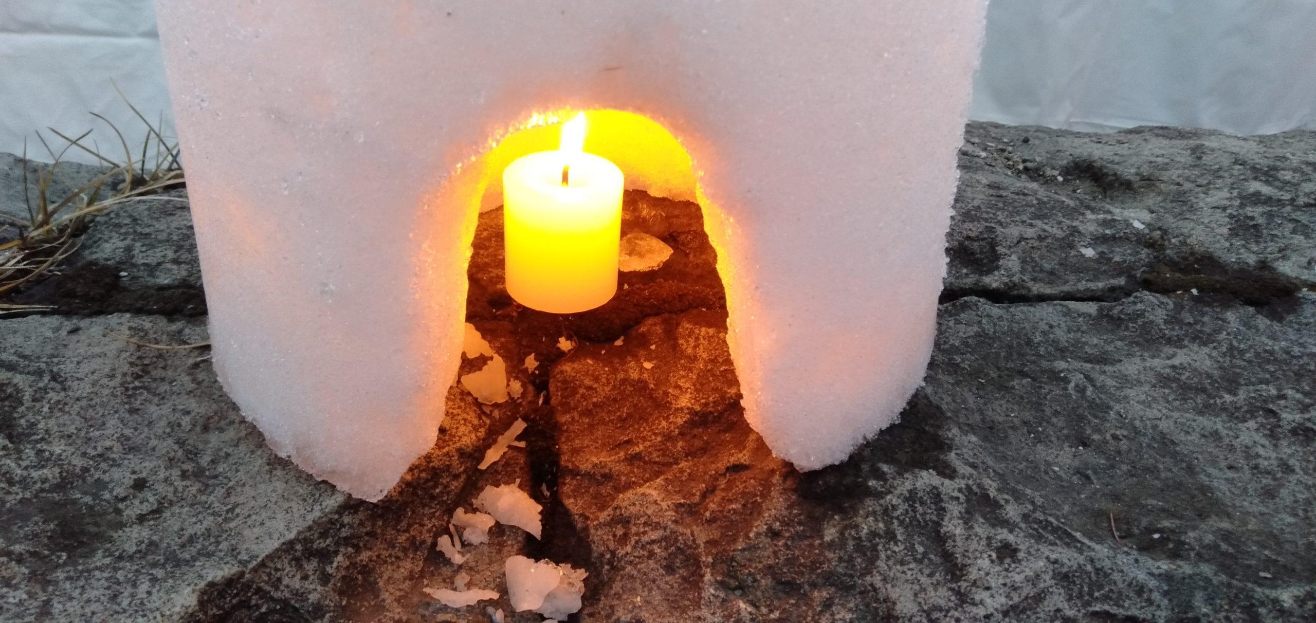 小樽の雪あかりの路にオッサンと行きました!あー楽しい〜